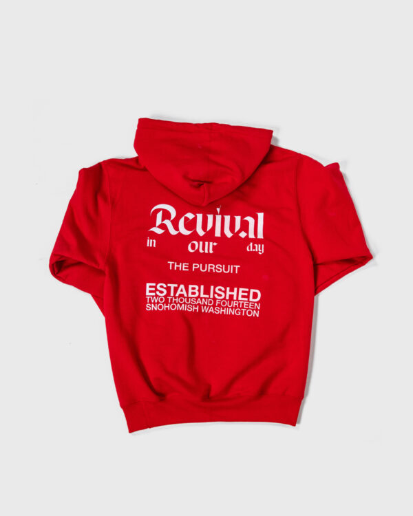 Revival in Our Day Hoodie Red